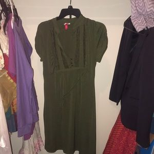 Dark green dress XL